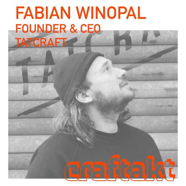 Book your free ticket now @ www.craftakt.de and meet Fabian @craftakt conference @tatcraft. ⠀ ⠀ @fabianwinopal is Co-Founder / CEO / Creative Director of the Project Growth Network @Tatcraft, a vivid Investor in honest, highly delivering brands and a happy keynote speaker...⠀ ⠀ .⠀ #craftakt #tatcraft #maker #frankfurt #ffm #conference #events #design #event #business #inspiration #entrepreneur #venue #tech #startup #maker #makersgonnamake #makersmovement #creative #success #motivation #entrepreneurship #hustle #entrepreneurlife #lifestyle #work #businessman #mindset #successful #startuplife⠀