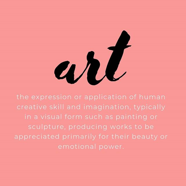 """What do you see as being """"art""""? I completely agree that """"art"""" has an emotional power. There are so many forms of creativity out there, share yours. 💓 • • • #girlboss #girlbossmagic #pursuehappy #pinktheme #pinkhues #pink #thisgirlmeansbusiness #bossbabelife #creativechicks #creativeladydirector #creativepreneurs #inspiredladies #thegramgang #freelancelife #freelancelifestyle #creativelive #designinspiration #designwork #websitedevelopment #websitelaunch #website_design #websitedeveloper #websiteservices #websitedesigns #branddesign #needawebsite #squarespace #designfeed"""
