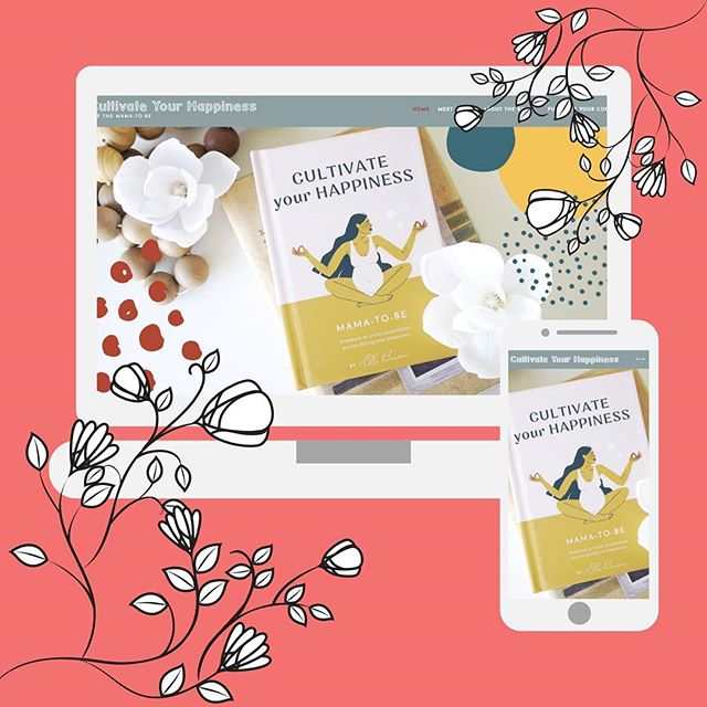 🎉WEBSITE LAUNCH🎉 SO excited to let everyone know that the site for the wonderful @cultivateyourhappiness is LIVE! 💝 A big thanks to Elle for being so brilliant to work with! ♡ Make sure to give the site a visit - cultivateyourhappiness.co to buy you pregnancy journal! ♡ ♡ ♡ #communityovercompetiton #squarespacetips #ladypreneur #forthecreative #thecreativers  #creativeatheart #squarespacesite #squarespacefam #squarespacestore #squarespacejunkie #squarespacedeveloper #squarespaceblog #squarespacecirclemember #squarespacespecialists #squarespacecommunity #squarespacedesign #squarespacecircle #squarespacewebsites #squarespacewebdesign #squarespacewebsite #creativityfound #design #instabeauty #smallbusiness #digitalnomad #digitalnomadlifestyle #bossbabe #creativityquote #designlife #womeninbiz
