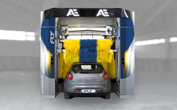 umývacia linka pre osobné vozidlá -