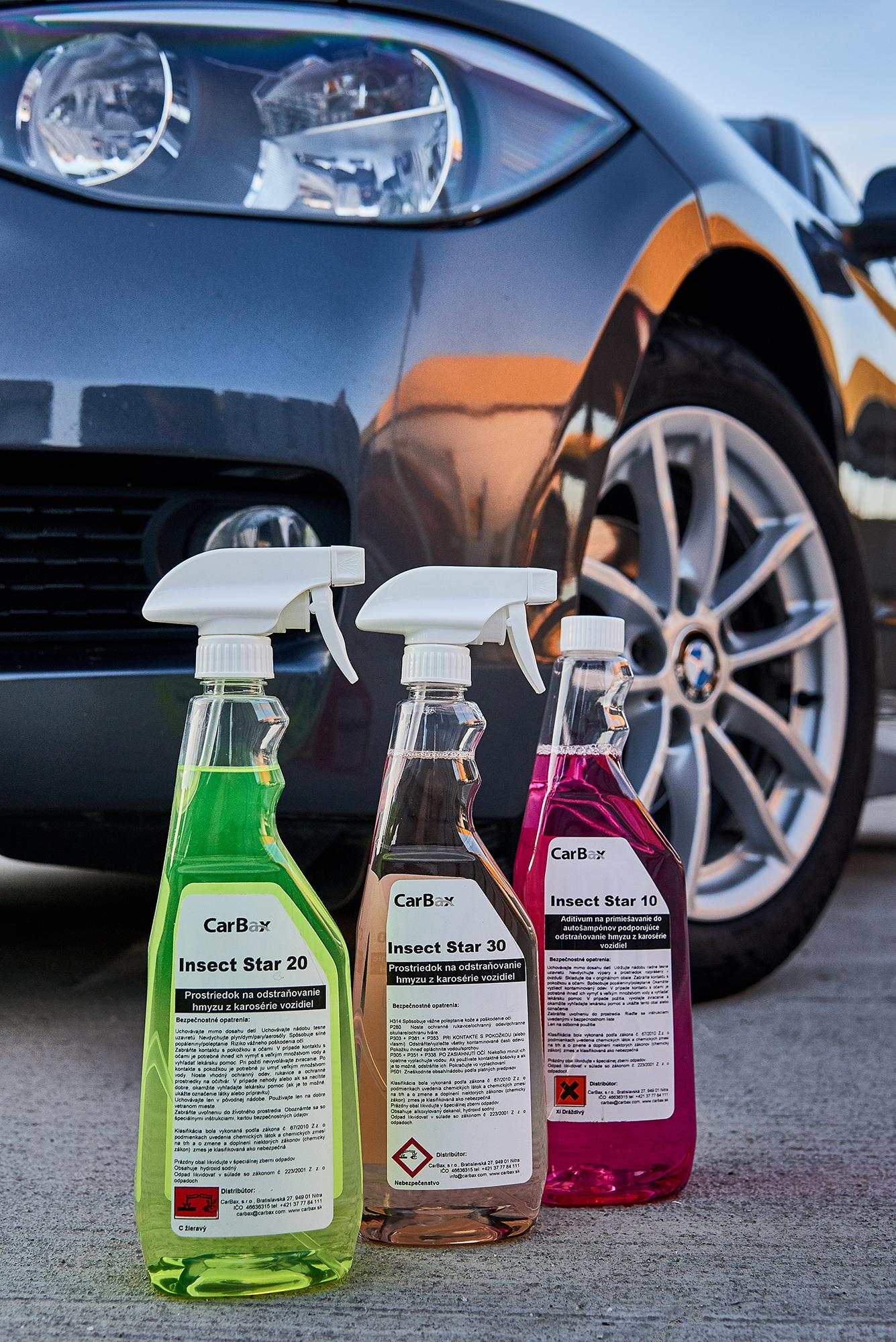 star line - obsahuje široký sortiment čistiacich prostriedkov určených pre bezdotykové umývanie a starostlivosť o autá ako sú aktívna pena, rýchlo sušiace vosky, prípravky pre čistenie diskov a pneumatík, starostlivosť o plastové časti interiéru a exteriéru ako aj prostriedok pre starostlivosť o kefy automatickej umývacej linky. Línia tiež obsahuje širokú ponuku prostriedkov pre čistiaci priemysel a upratovacie firmy ako prostriedky pre čistenie podláh, odstránenie vodného kameňa, odstránenie zaschnutého betónu a iné.