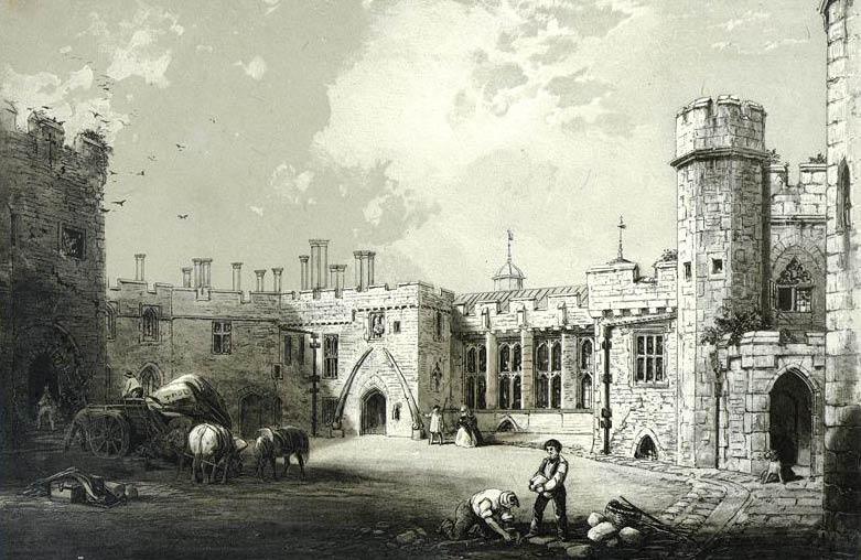 Berkley Catsle 1800's