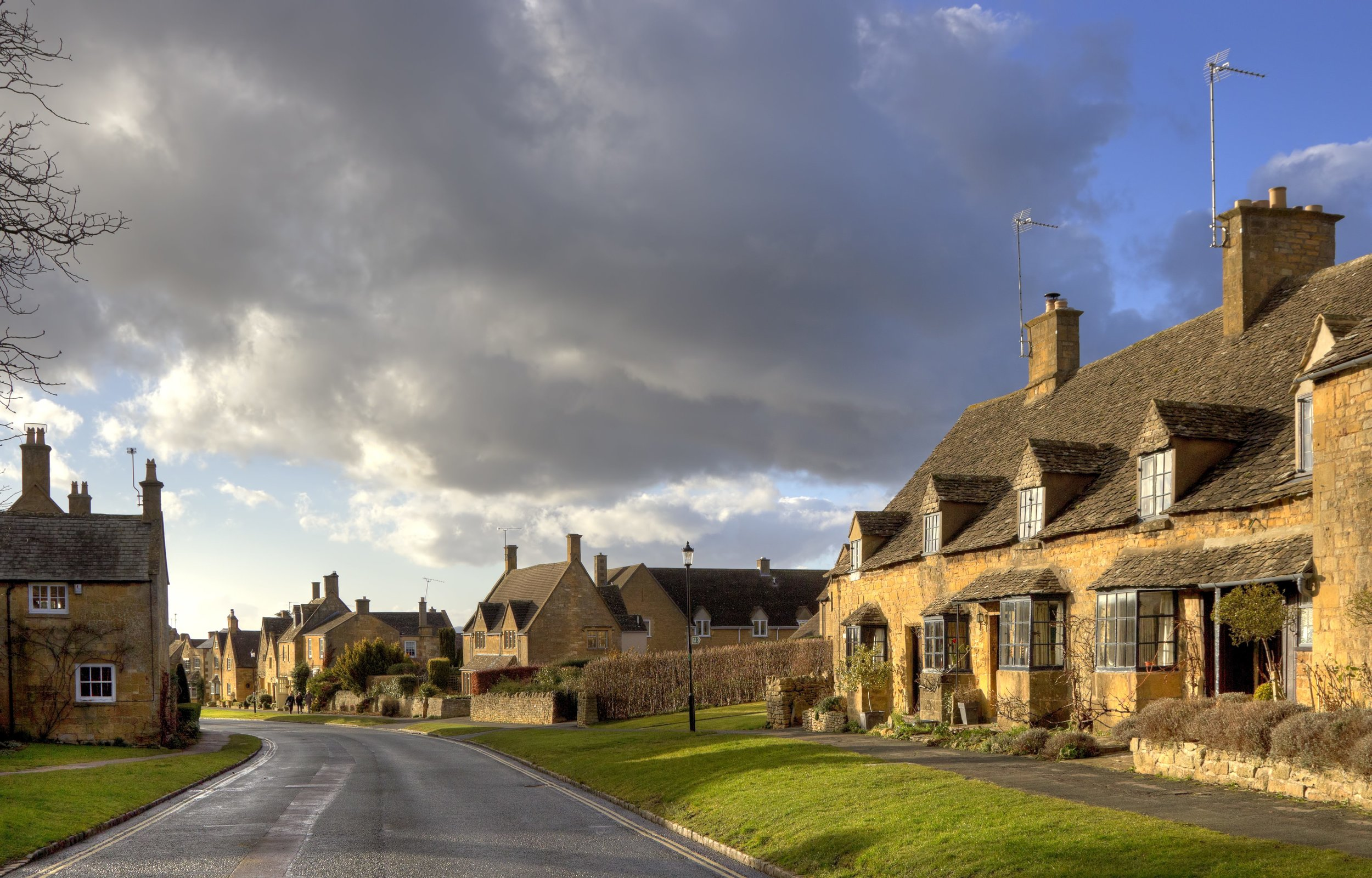 Broadway in Worcestershire.