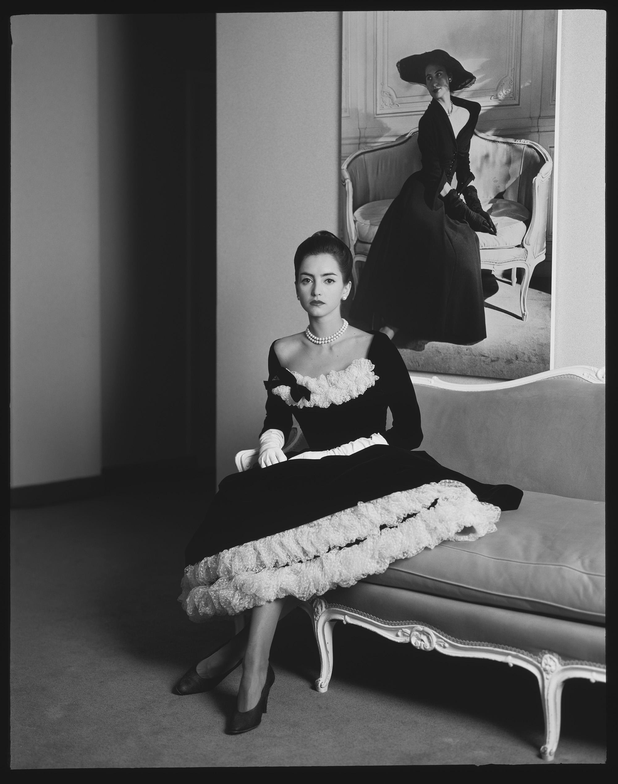 Dior girl B&W.jpg