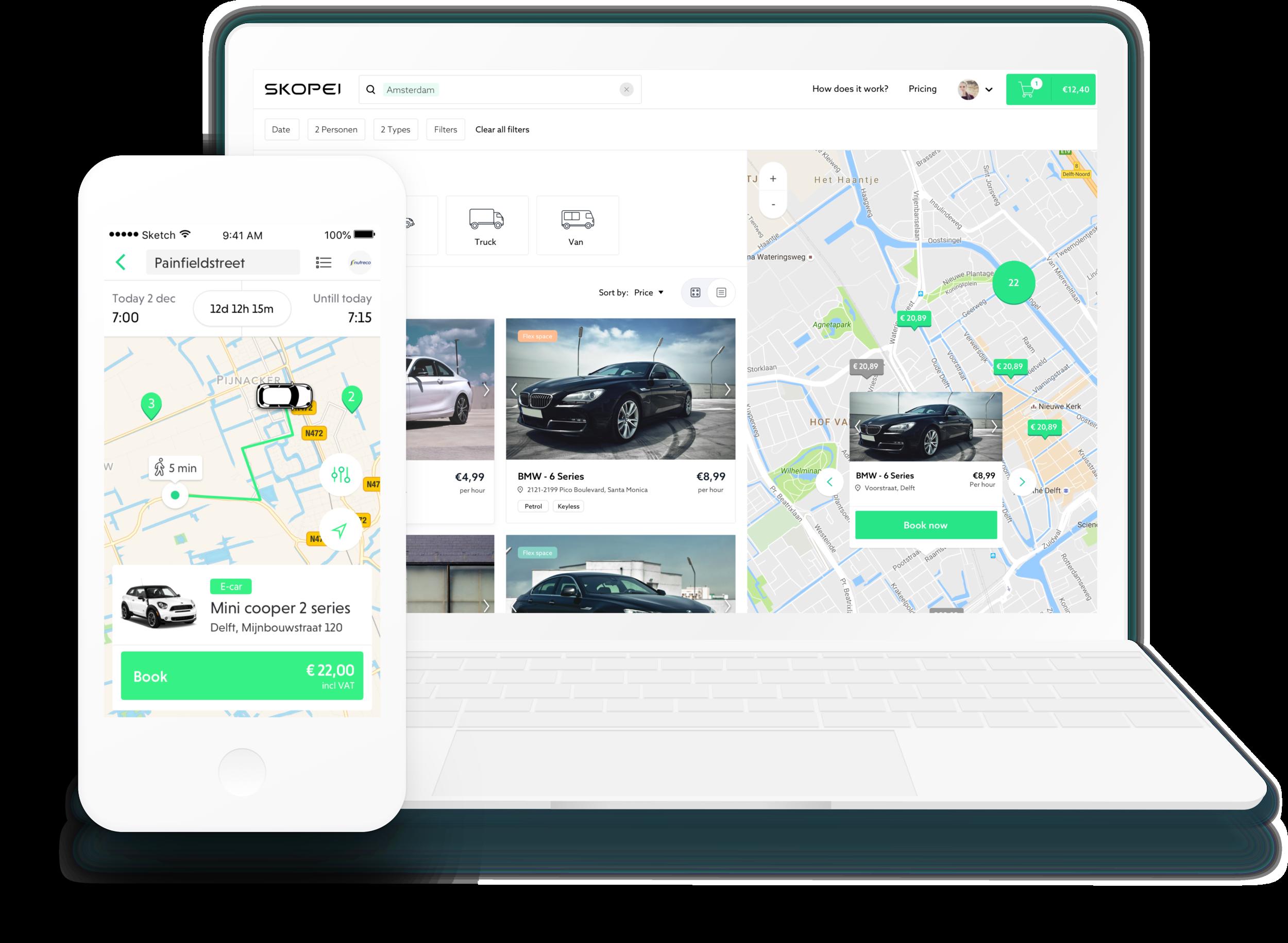 User friendly sharing platform