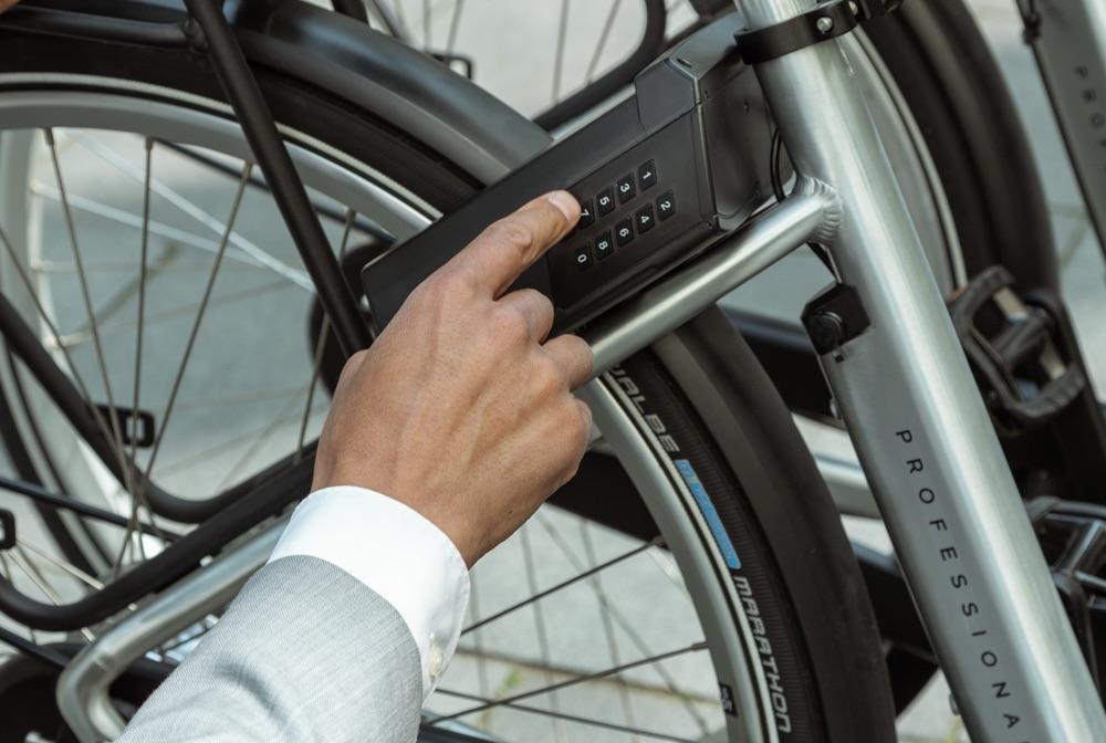 elektronisch fietsslot