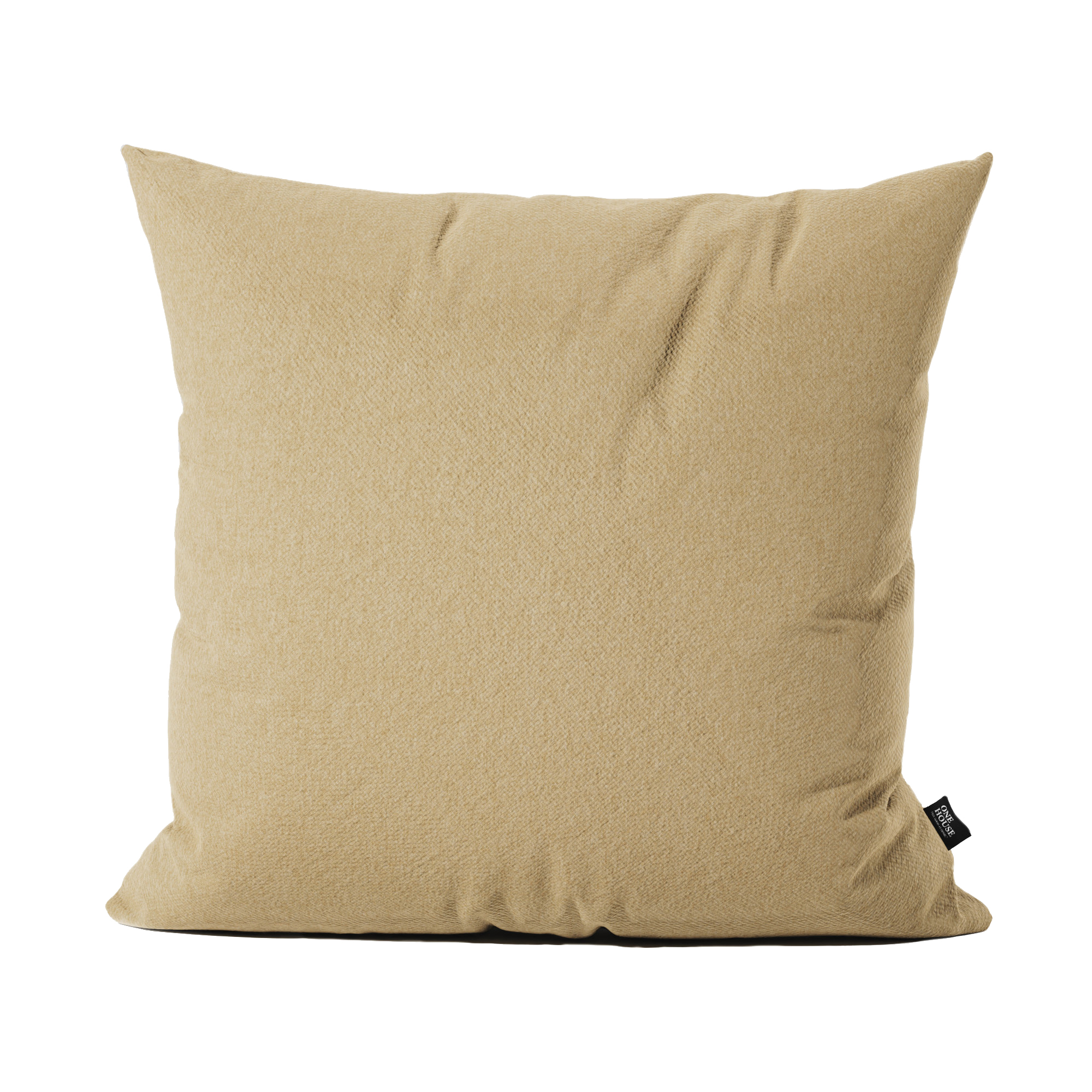 Roman pale - Monumental buildings and arenas of the Romans influenced the design of this classic earthy color. The cushion's fabric impresses with a soft and natural look.