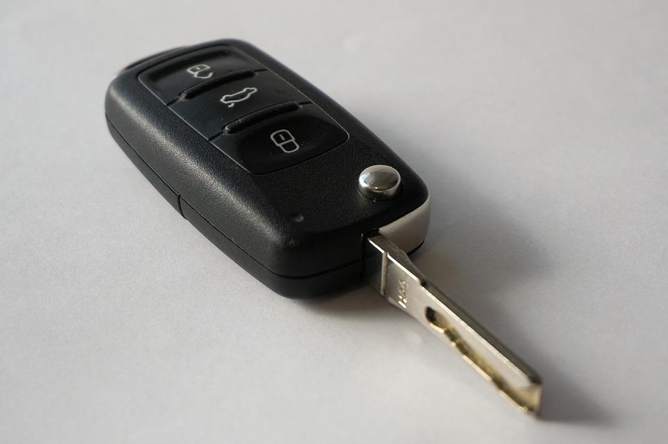 The laser cut car key
