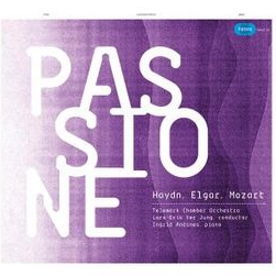 Passione (2010) - Telemark Chamber OrchestraLars-Erik ter Jung, conductorIngrid Andsnes, pianoHaydn: Symphony No. 49Elgar:
