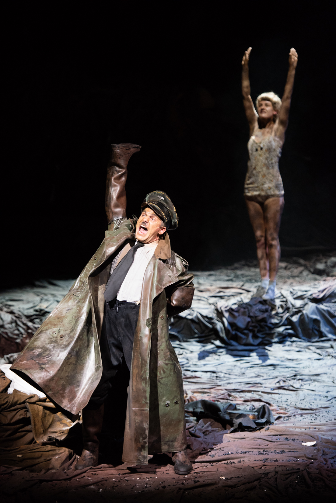"""…the completely crazy but most credible James Kryshak's Hitler."" - - Opera Online (Elodie Martinez)"