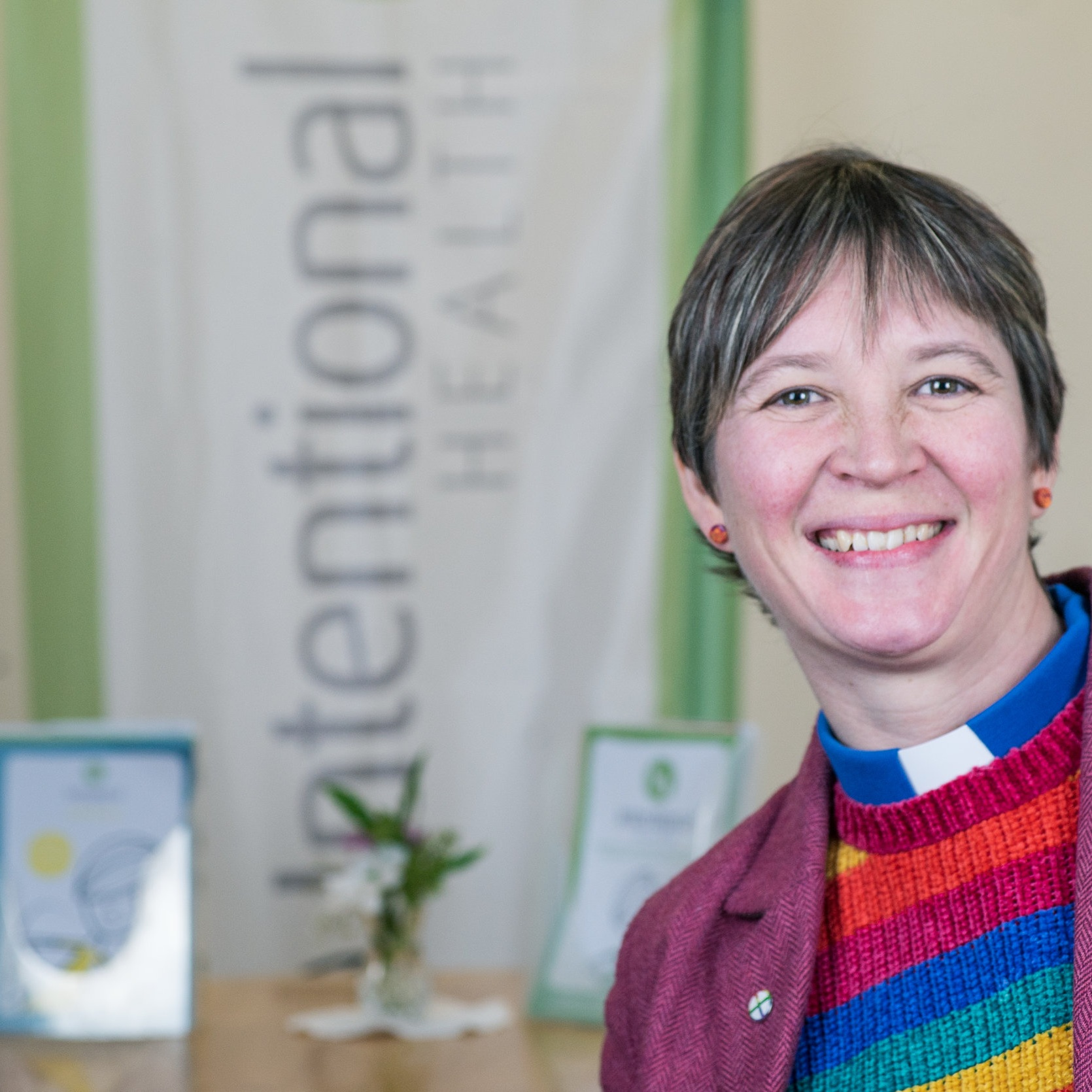 """Church isn't about getting bums on seats on a Sunday morning, it's about meeting people regardless of their background or beliefs and walking alongside them until they believe that they are both loved and loveable.""    Rev Chloe, Methodist Minister"