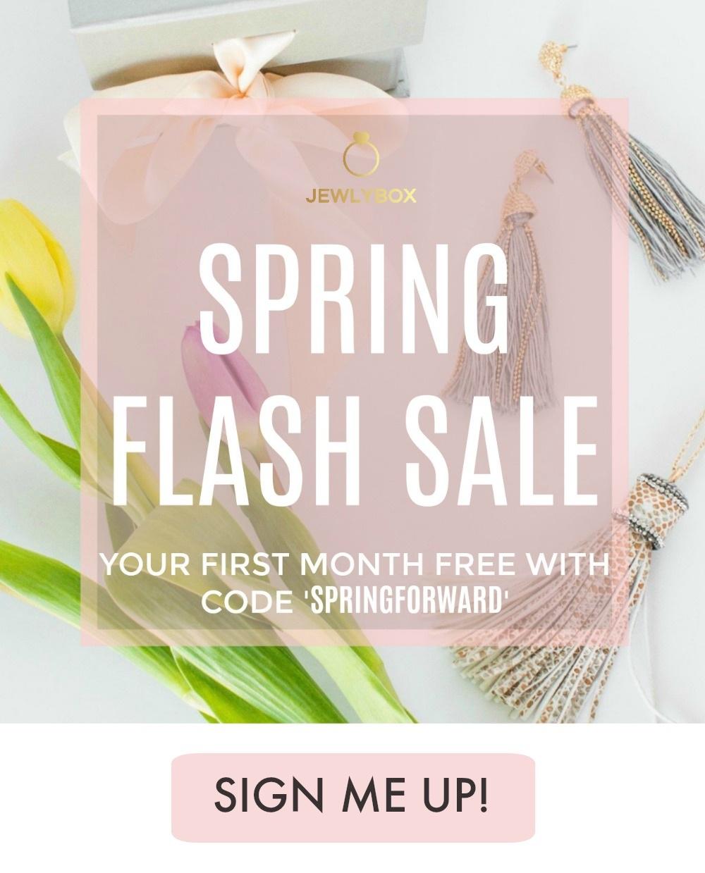Springforward Promotion - Jewlybox 2019