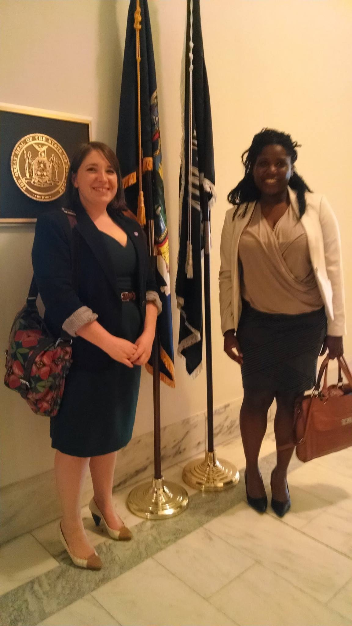 Lobbying in DC during the AAAS CASE workshop in April 2014