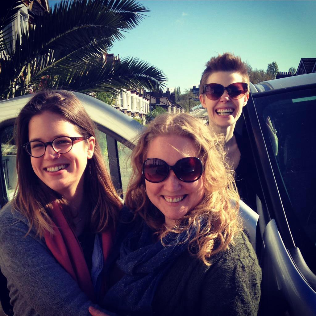 The Normal/Madness Team  (Katharina Reinthaller, Jessica Beck, Fiona Geddes)