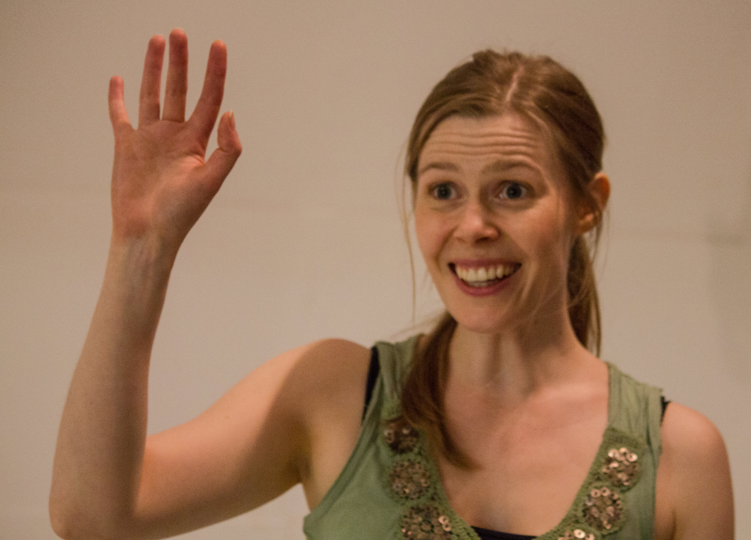Rehearsals for Normal/Madness (Fiona Geddes)