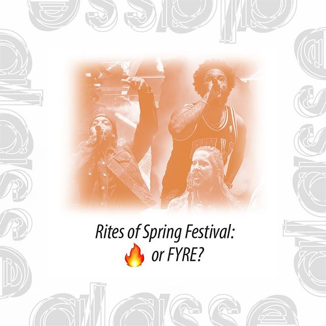 Was Rites of Spring 🔥 or Fyre? Read all about it on www.glassefactory.com and tell us what you decide.