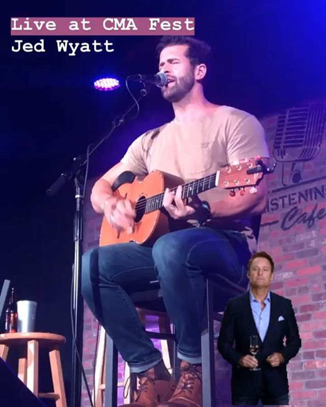 Jed Wyatt performed 2 fantastic sets in 1 night during CMA Fest. Check out a clip!