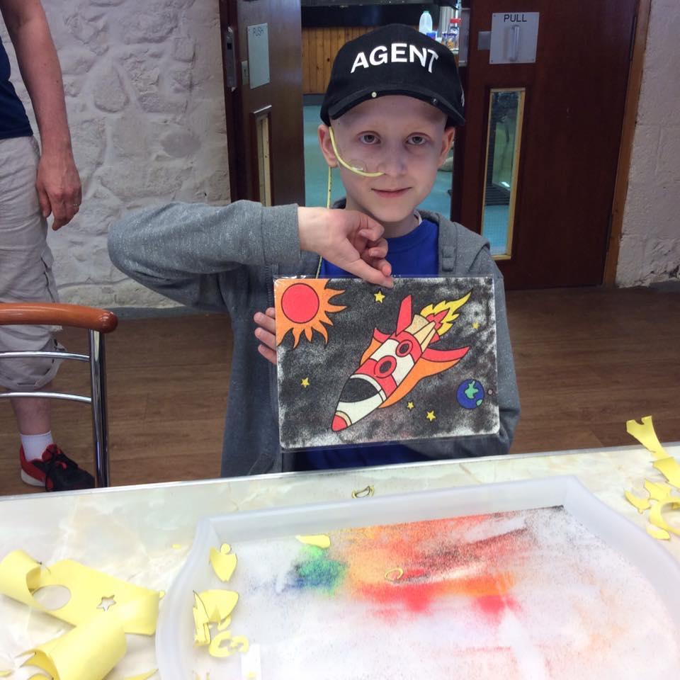 Warrior days - Boy with rocket painting.jpg