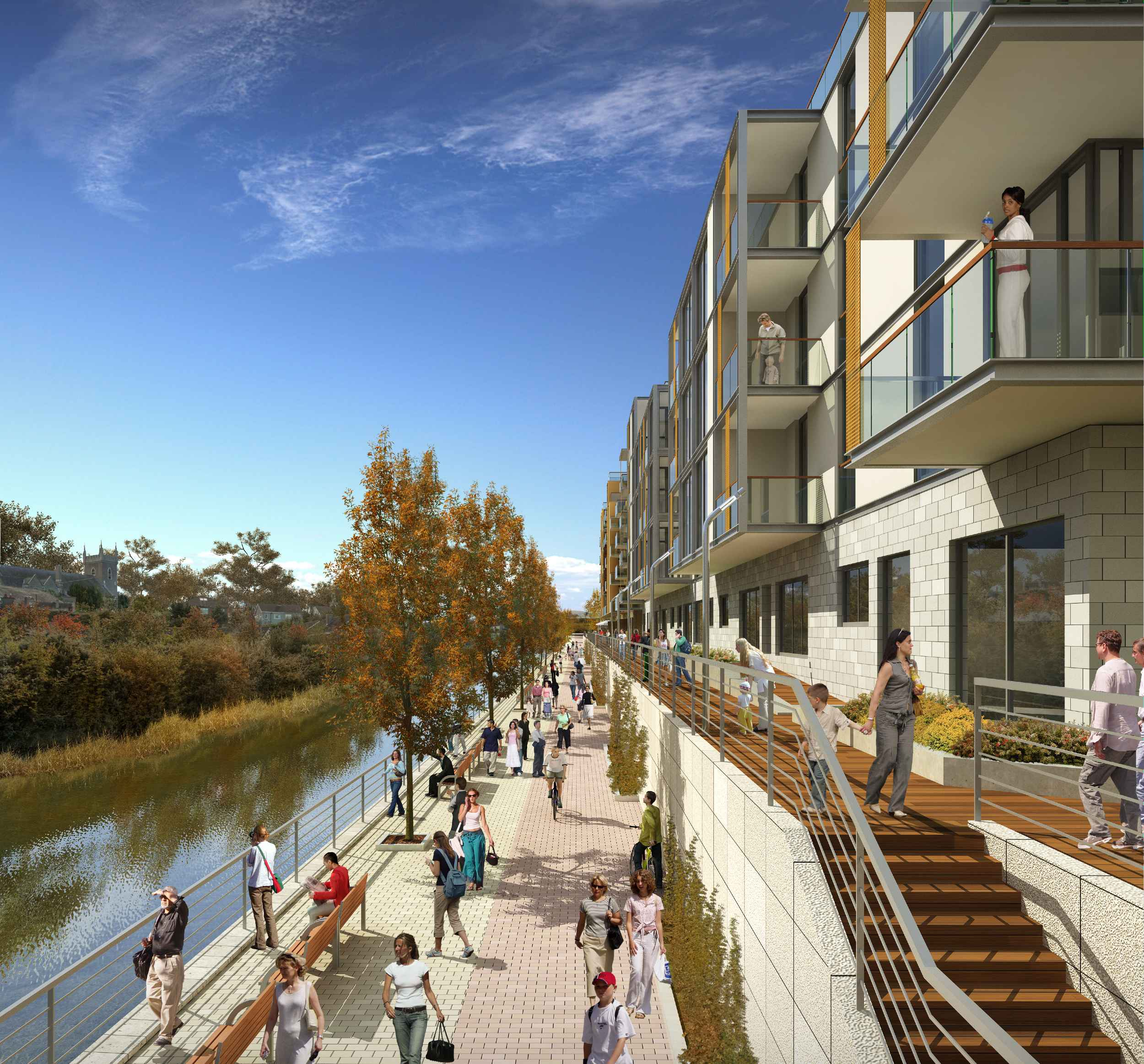Promenade At Town Center Apartments: Bray Town Centre