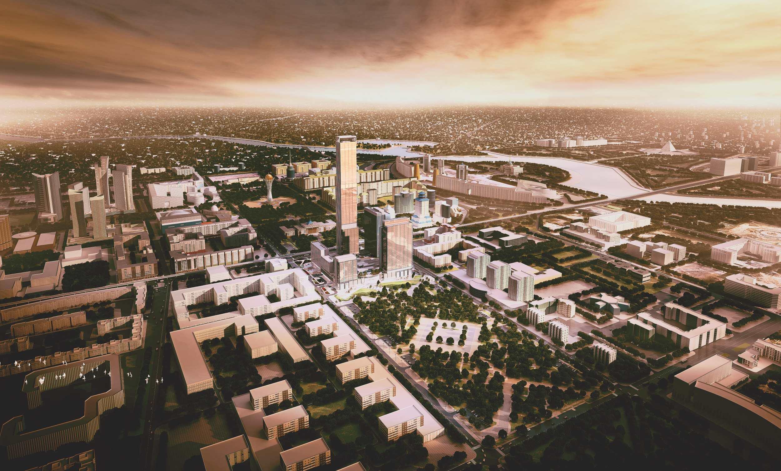 Abu Dhabi Plaza, Astana