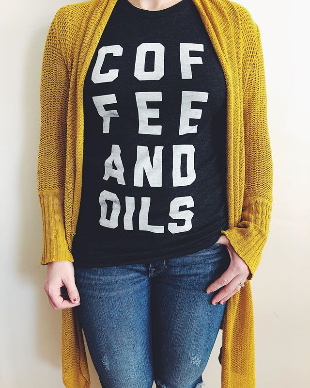 Fall is here. Snag one of our ultra cozy tees and slap on your favorite sweater. Grab a coffee, roll on your favorite oil, and hunker down. This season is pure magic.