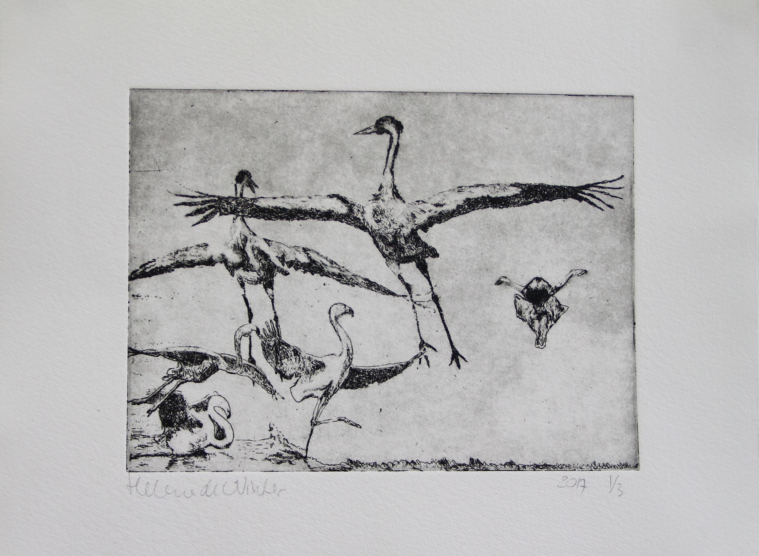 etching (aquatint)