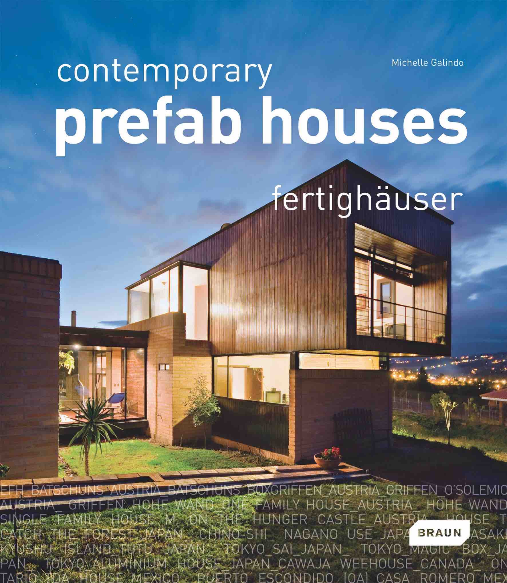 M. Galindo, Contemporary Prefab Houses, Braun Publishing AG, Switzerland, 2010, pp. 132-135