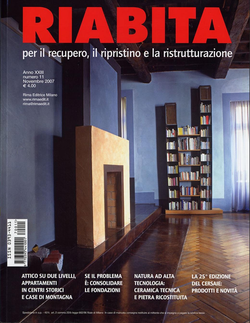 Riabita n. 11, novembre 2007, pp.22-27