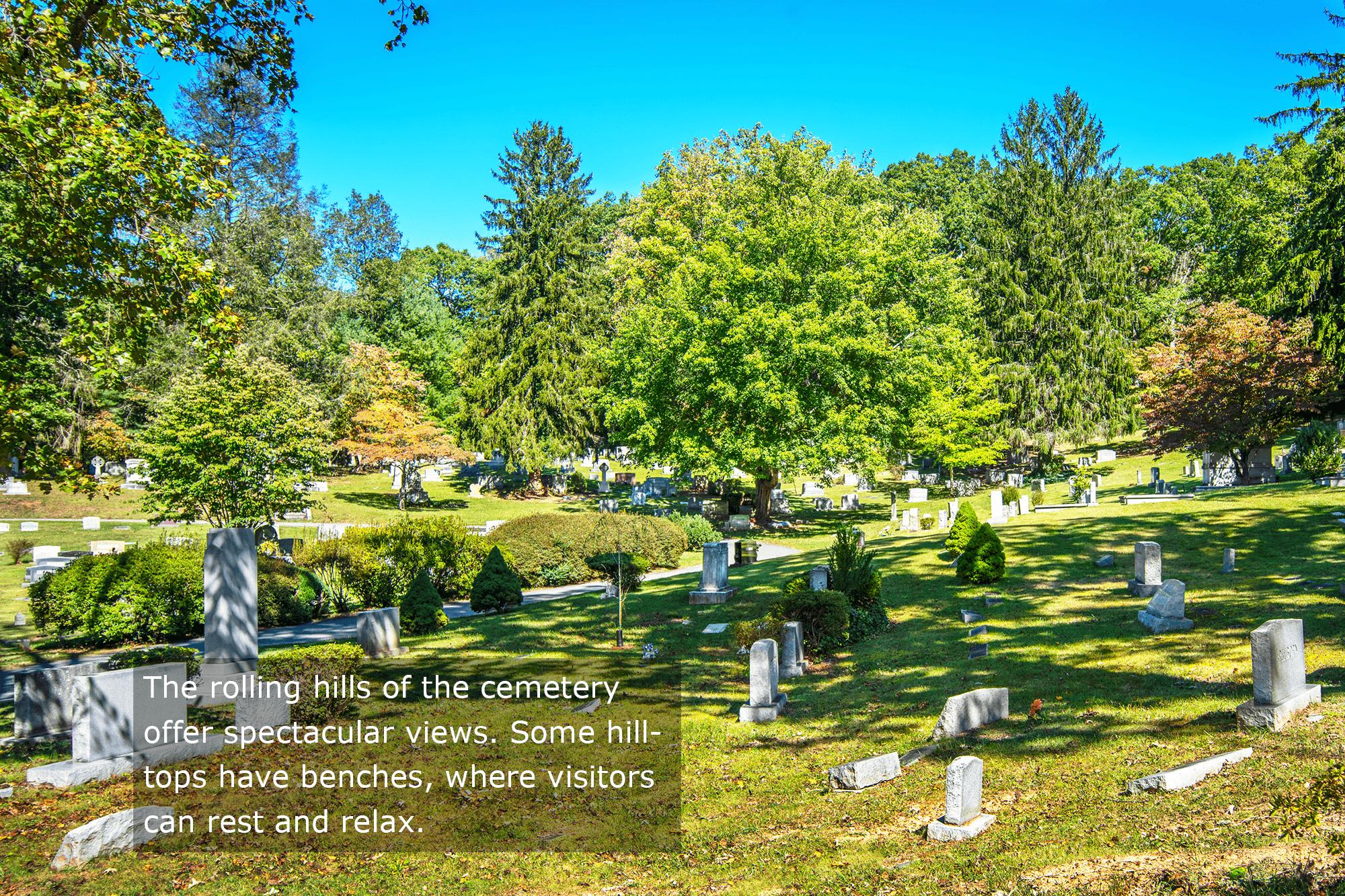 Asheville - Montford - Riverside Cemetery - Rolling Hills