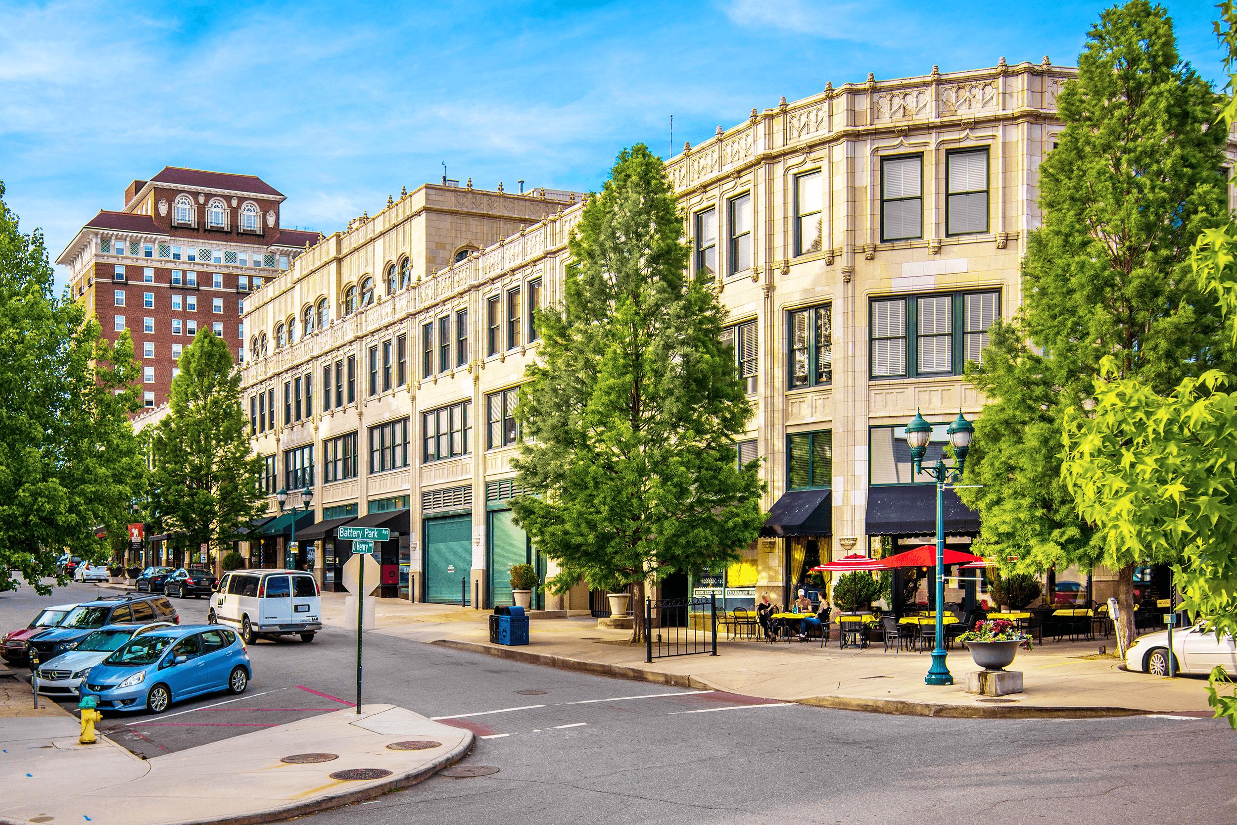 Grove Arcade Area - Asheville