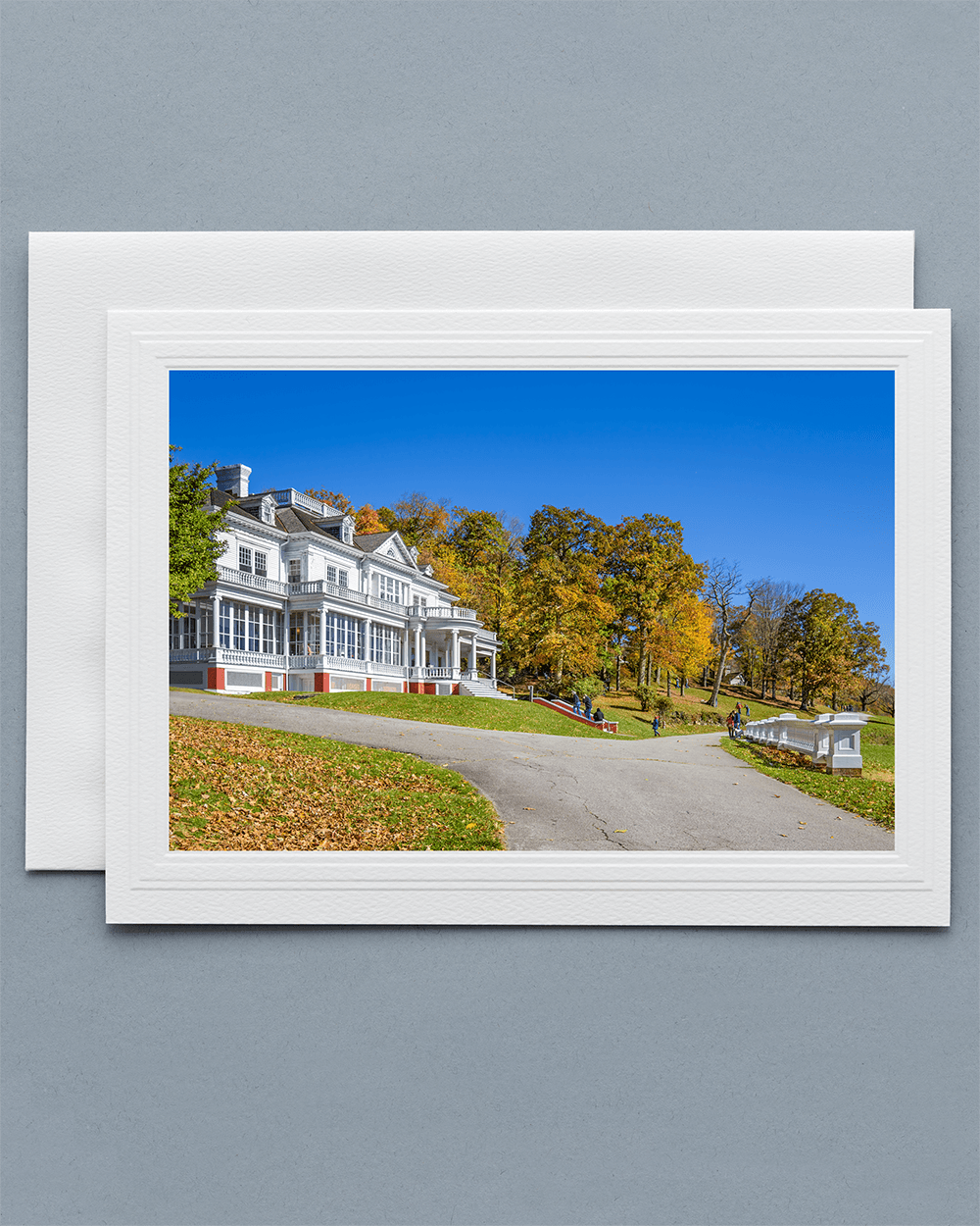 Send a lovely Greeting Card with a real photograph of Flat Top Manor - All Greeting Cards are handmade by us in the U.S.A.