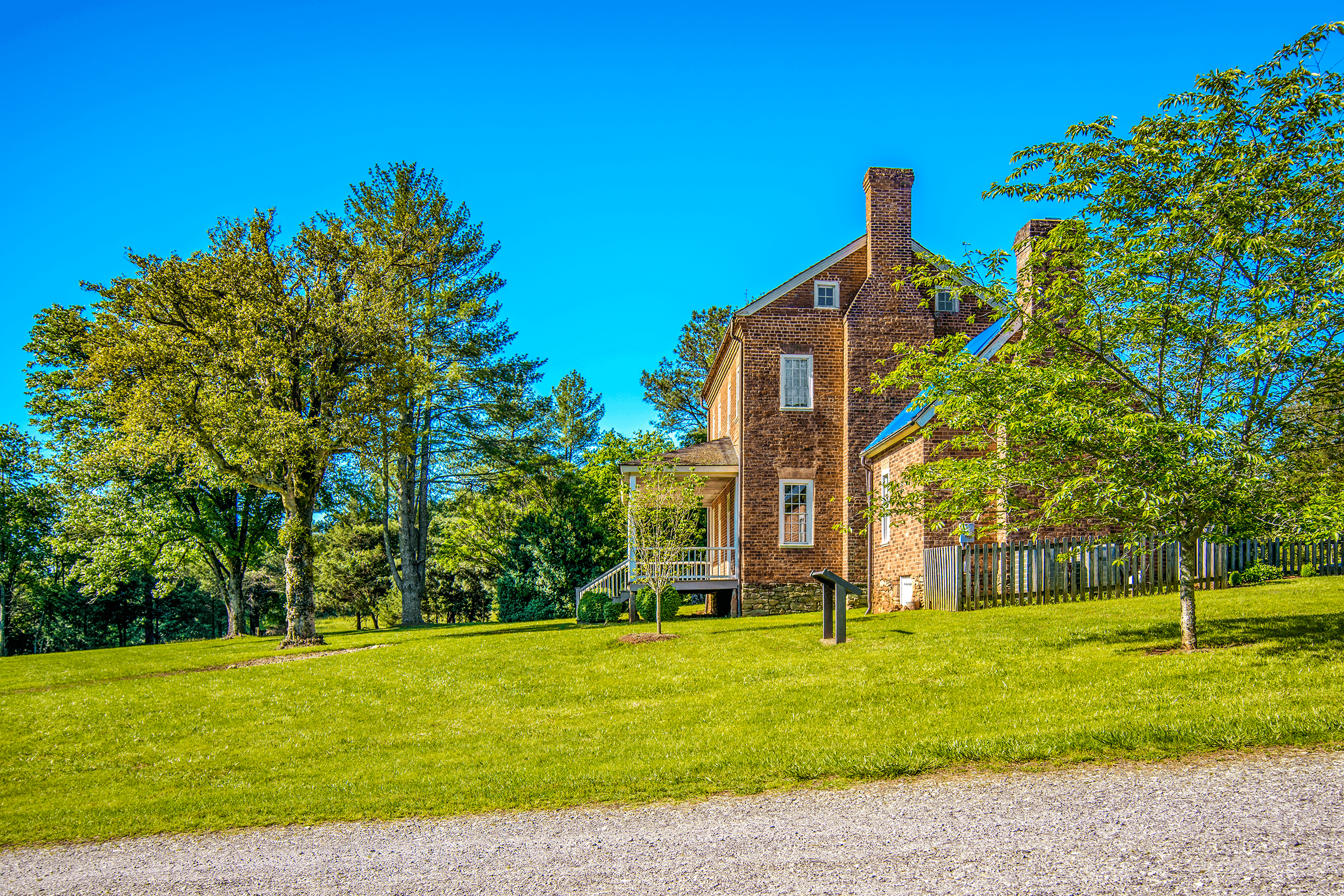The  Historic McDowell House  is a beautifully restored plantation home from 1812 and the oldest brick home in Burke County. Today a museum, the  Historic McDowell House  has been meticulously restored to its Federal style appearance of 1812. It portrays life on a 1,500-acre plantation in the early to mid 1800s, before the American Civil War (1861-1865).