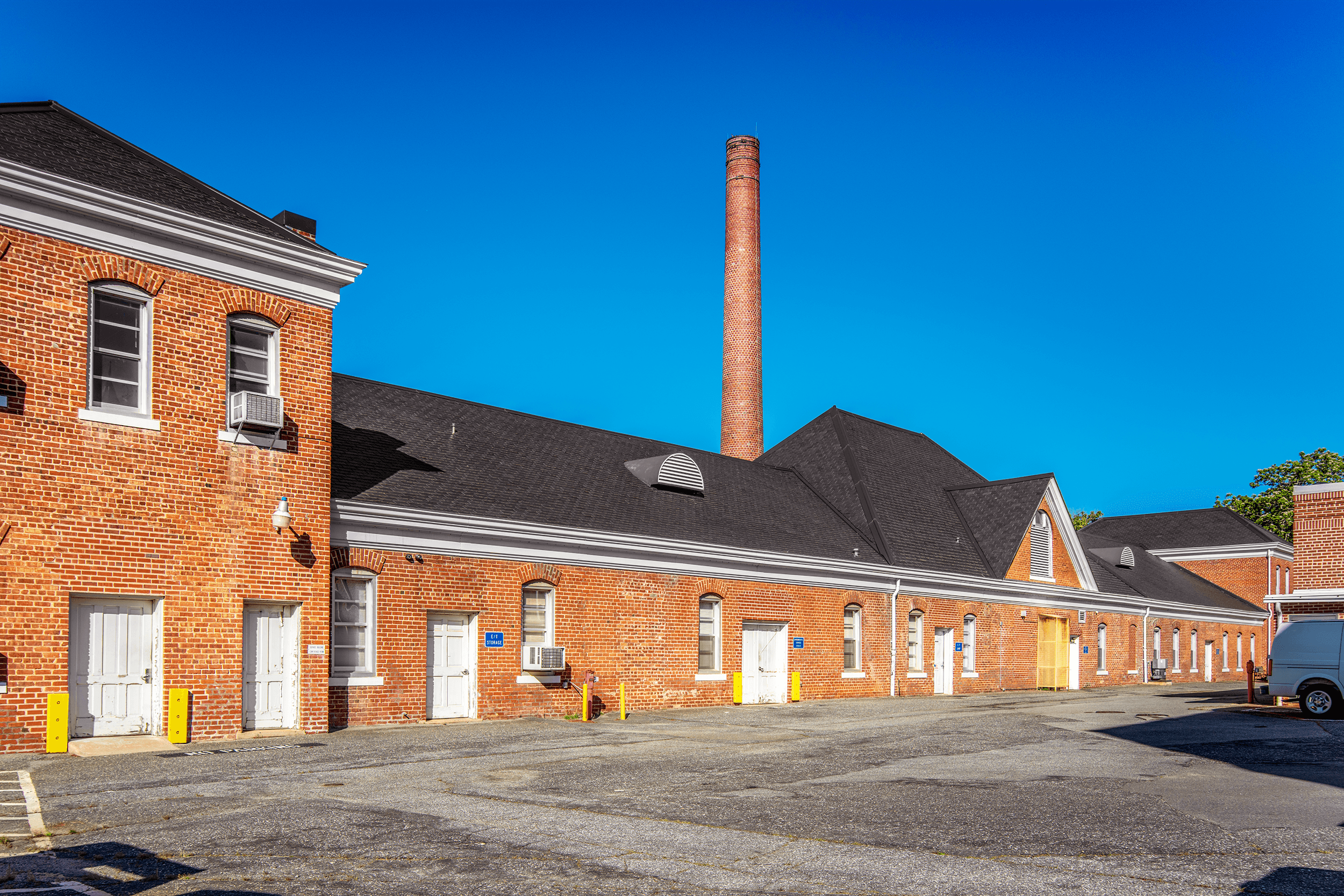 The old  Laundry Building , situated behind the  Main Building , dates from the original construction period of the early to mid-1890s. Both buildings were included in the  National Register of Historic Places  in 1976.