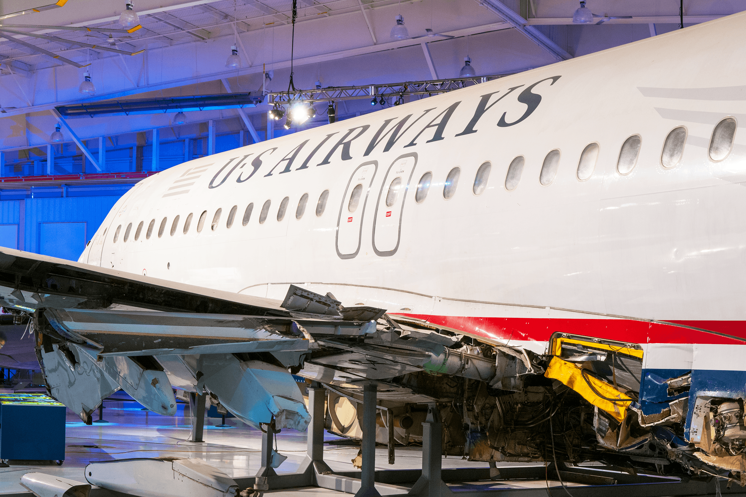 Home of the iconic US-Airways flight 1549 which did a successful emergency landing in the Hudson River in New York City in January of 2009 after hitting a flock of Canada geese causing both engines to fail.