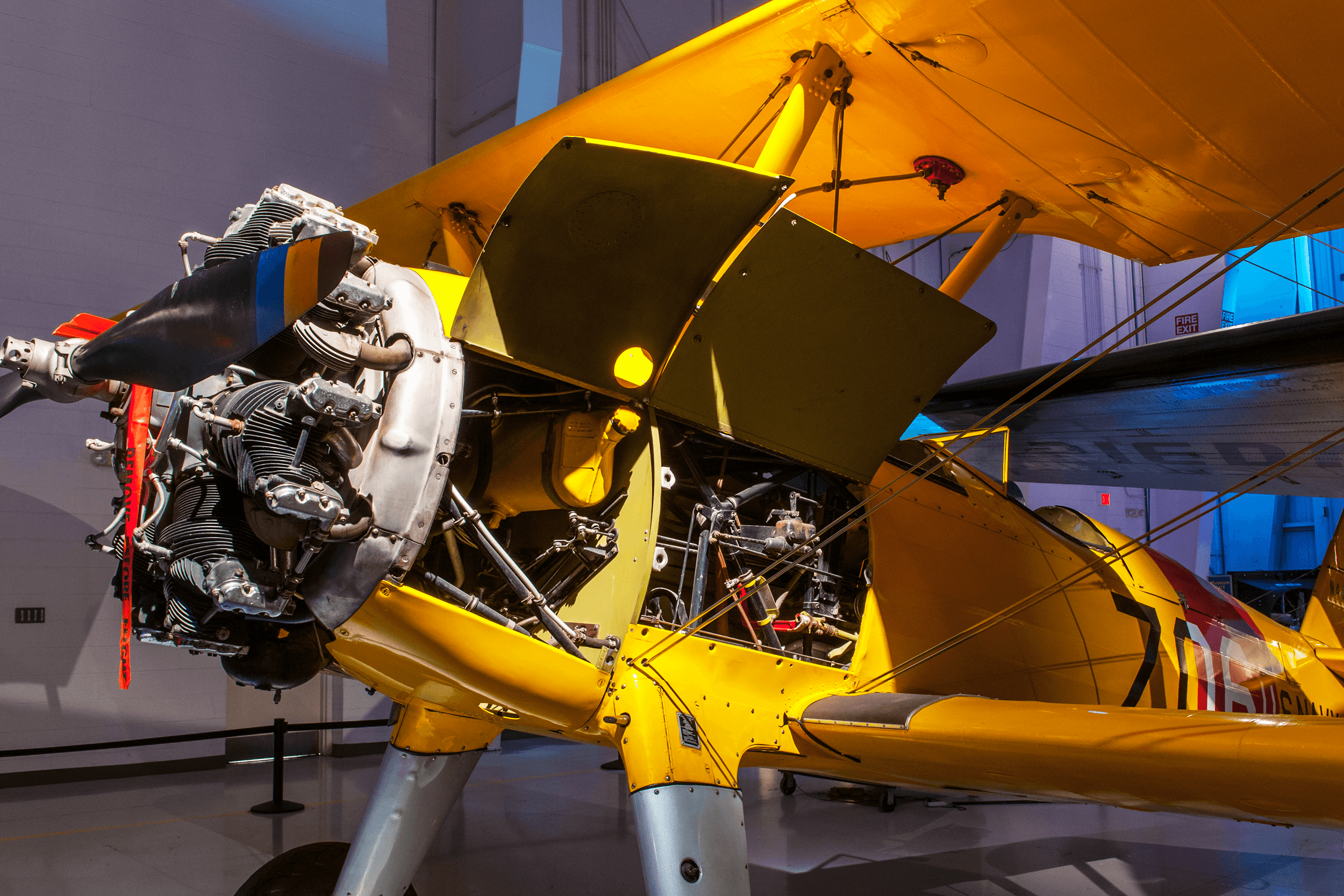 The Kaydet was introduced in 1933. Its structural rigidity and dual cockpits made it ideal as a trainer for military pilots. From 1933 to 1946 over 8,000 Kaydets were produced.