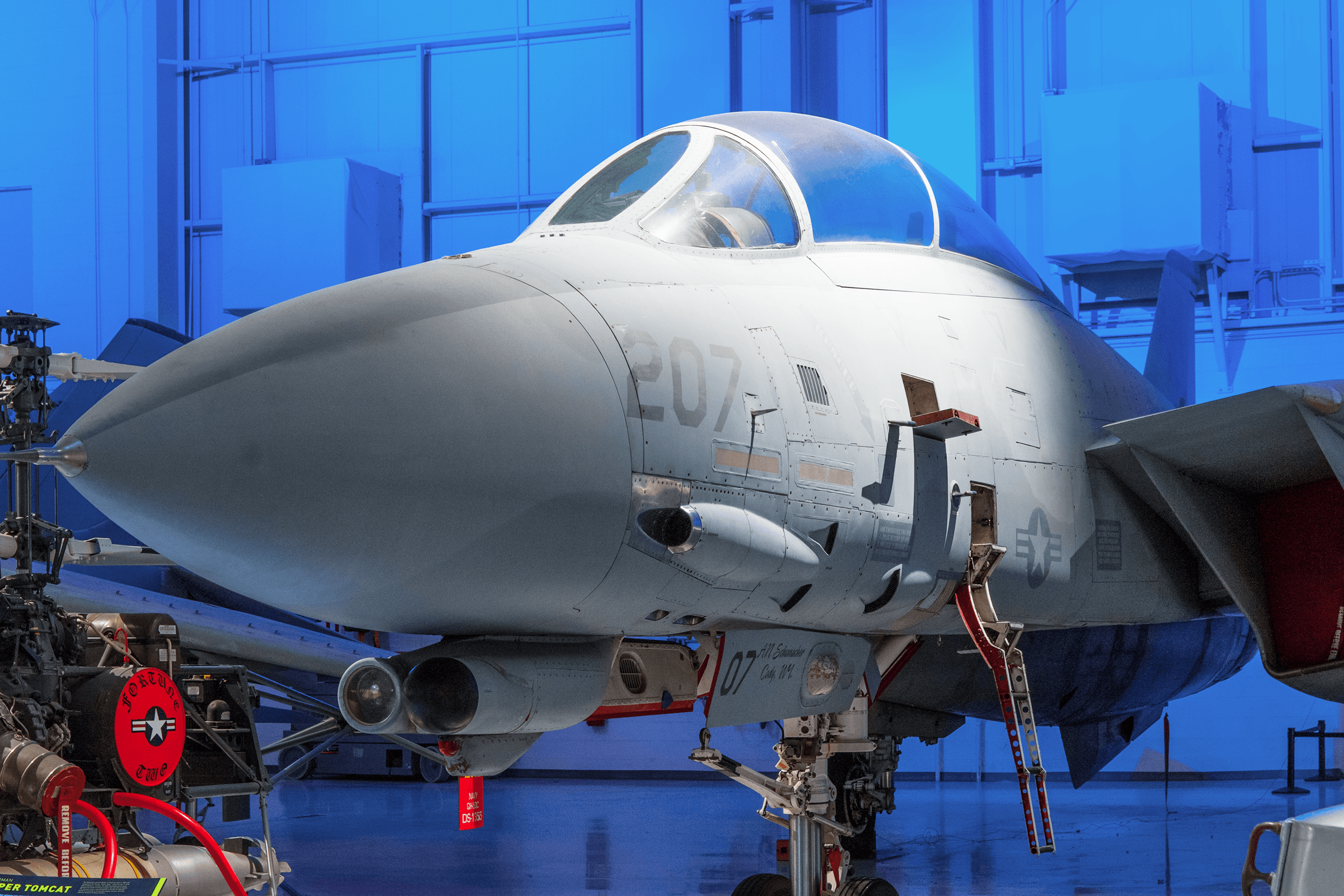 The Grumman F-14 Tomcat made its debut in 1974 replacing the F-4 Phantom II. The F-14 incorporated the experience of air combat against Russian MiG fighters during the Vietnam War. The aircraft was widely deployed in many conflicts around the world. After an impressive 30 years in service, the last F-14 was retired in 2006.