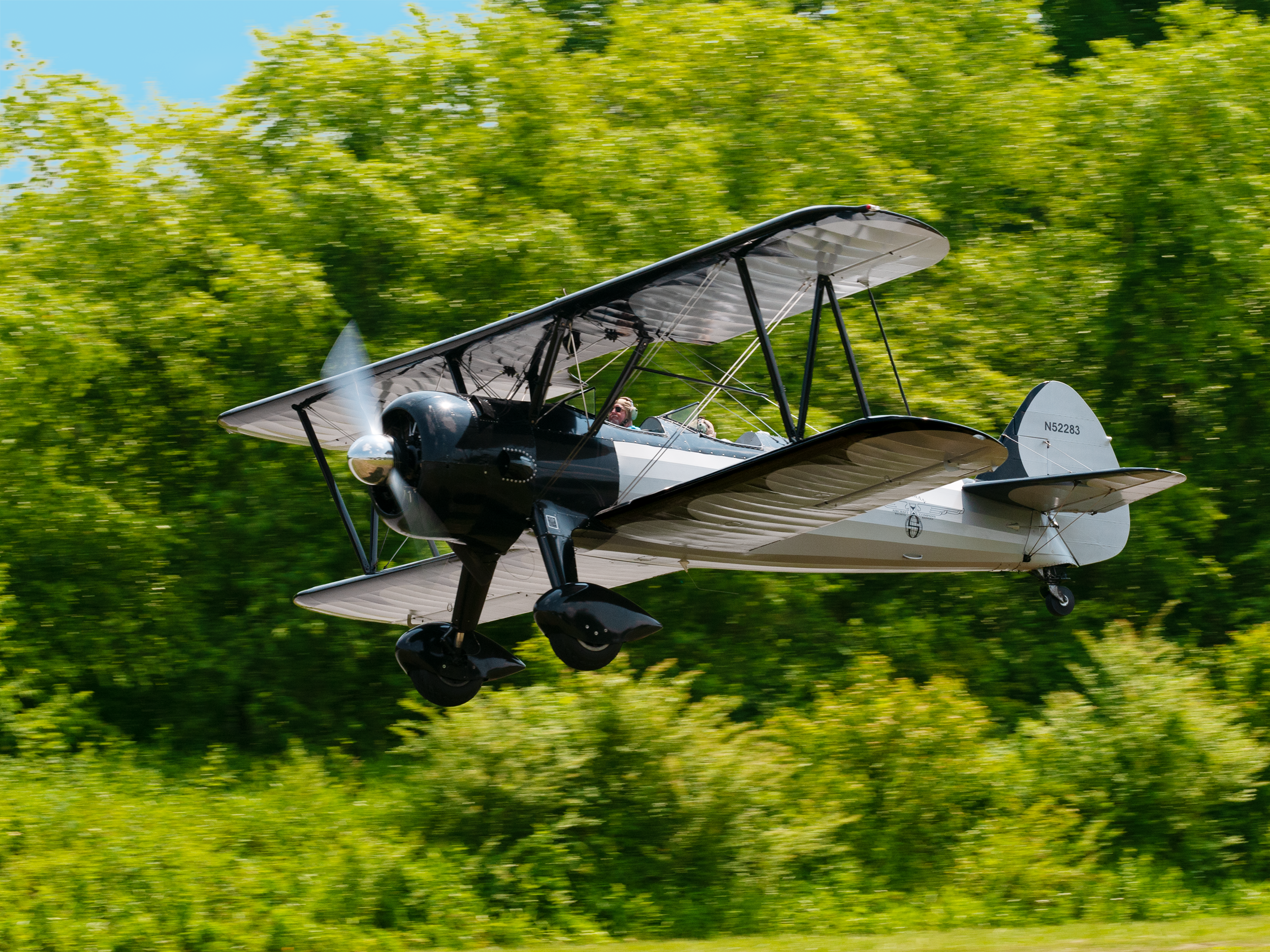 Typically at the end of May or beginning of June, the museum hosts an annual air show, when several of the vintage planes are flown. If you are lucky, you can take to the skies in this beautiful Stearman bi-plane.