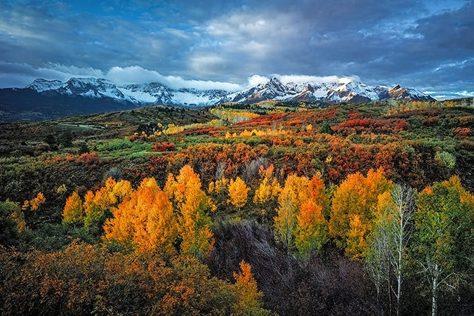 Dallas Divide - The Dallas Divide is one of the great of American vistas and will simply take your breath away.