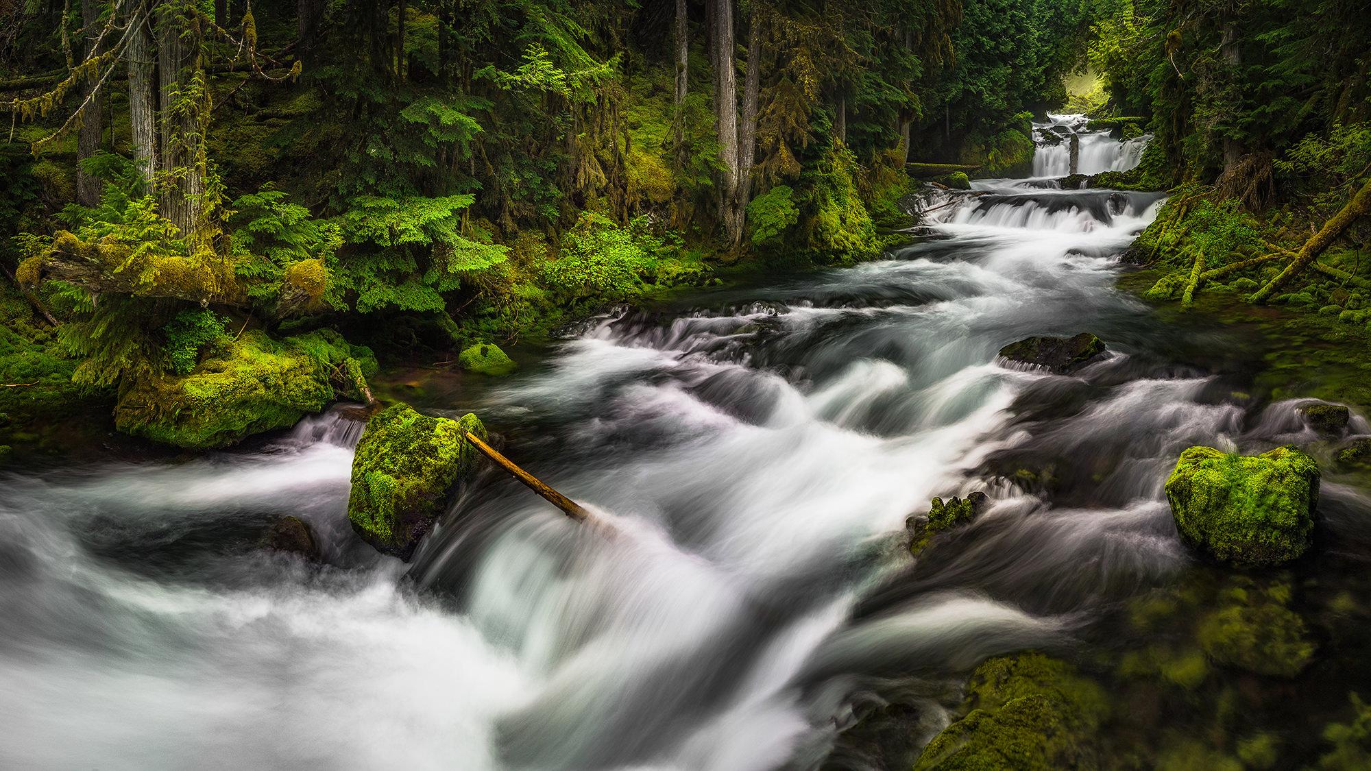 Sahalie Falls - Three Sisters Wilderness, OR