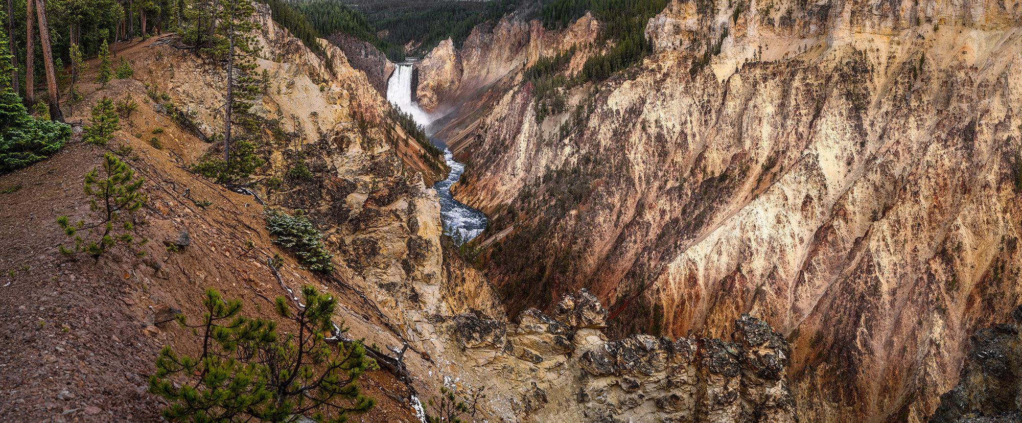 Grand canyon of the yellowstone - Near Canyon Village Yellowstone, WY