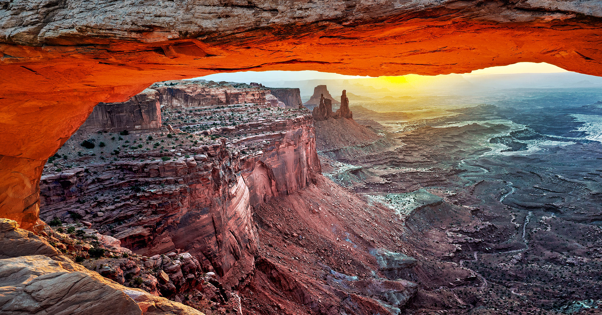 Mesa arch - Canyonlands National Park, UT