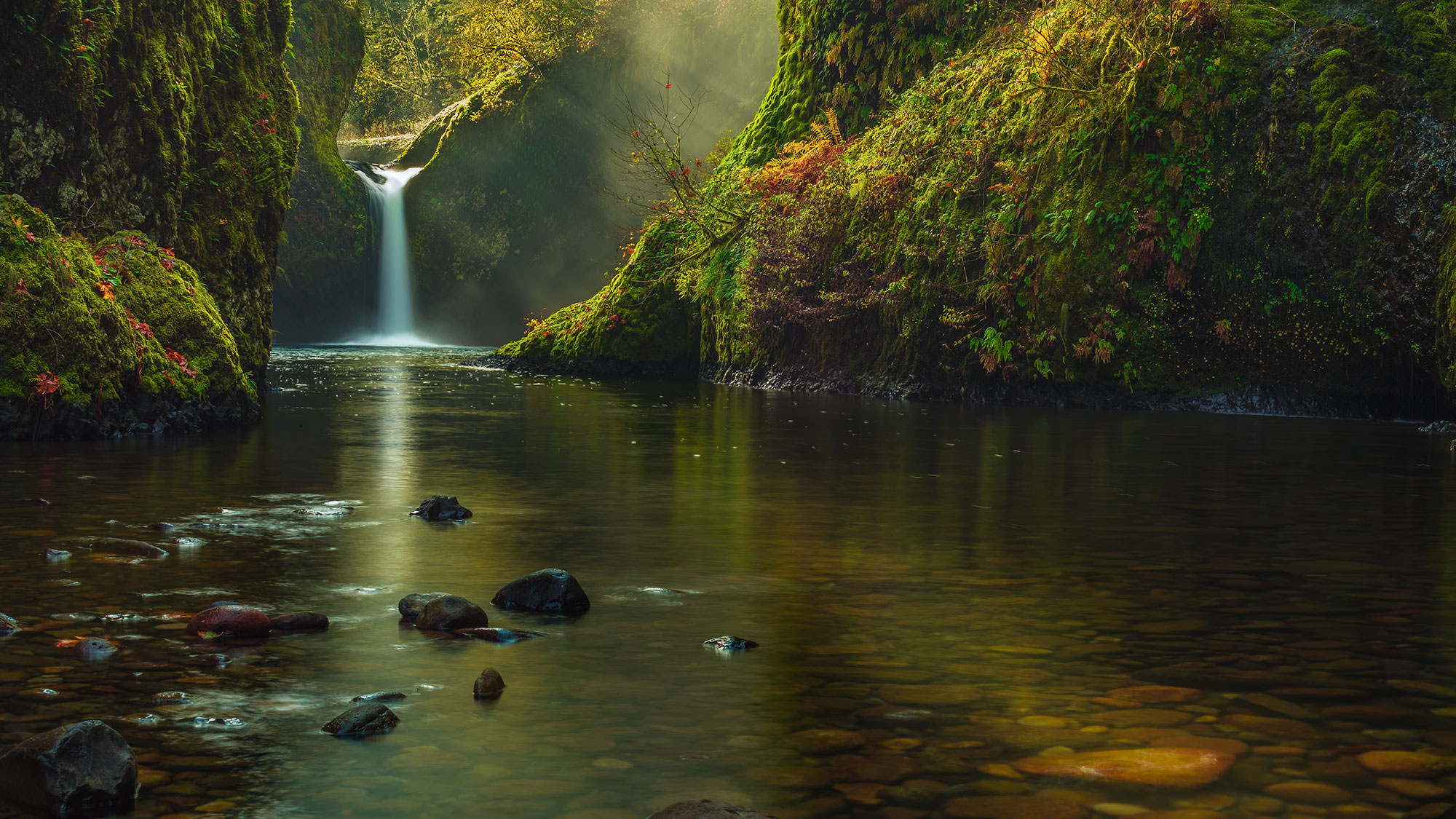 Punch Bowl Falls - Columbia Gorge, OR