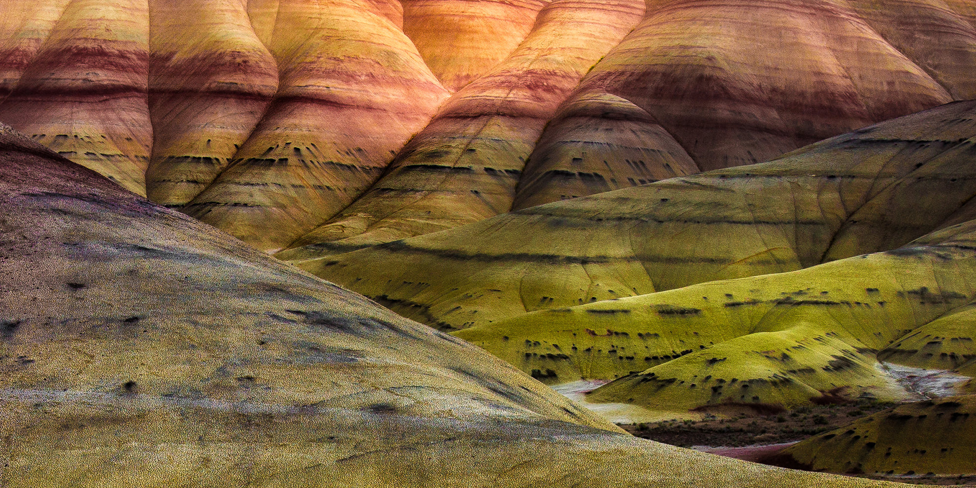 John day Painted Hills - Central Oregon