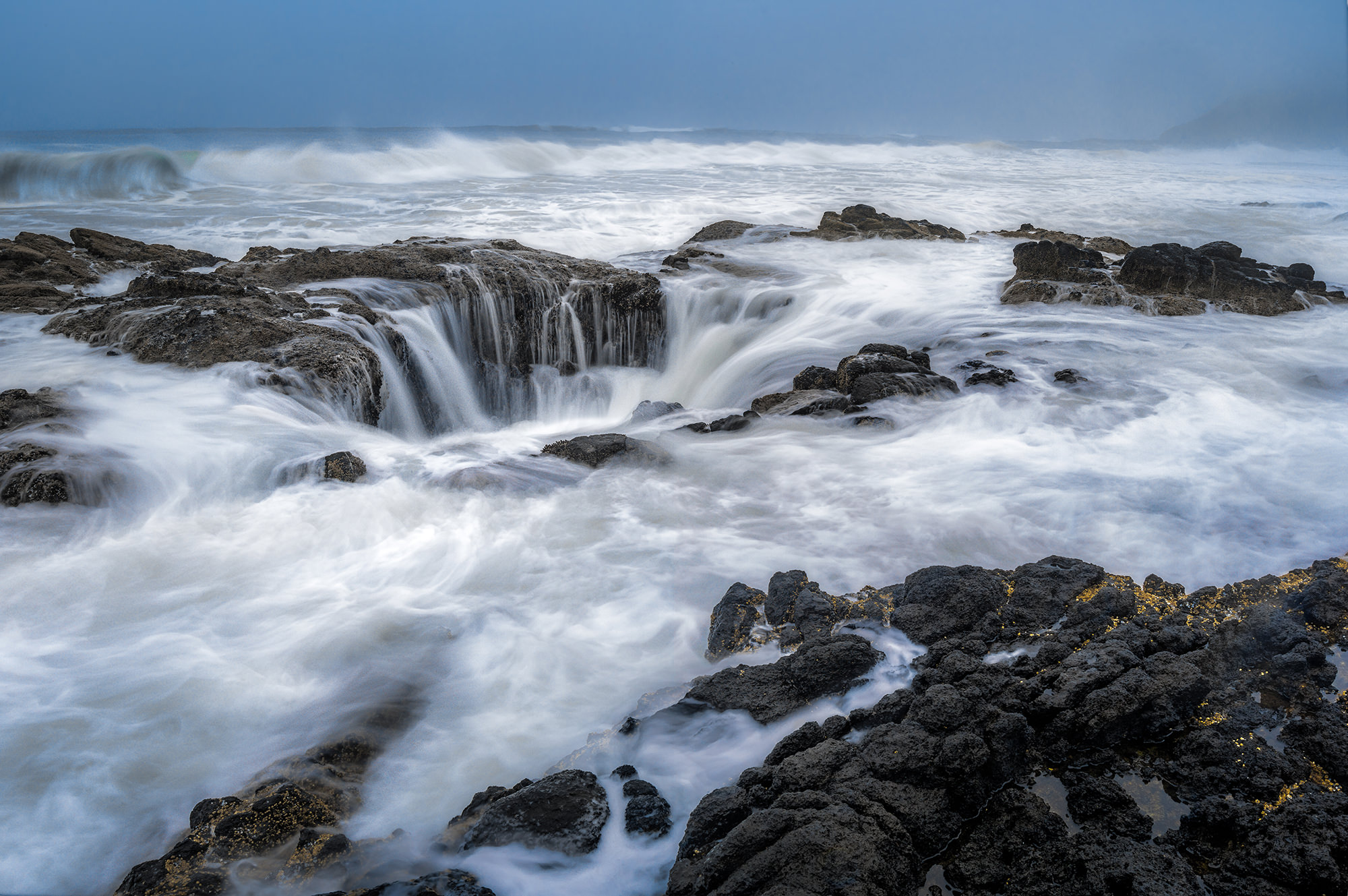 Thor's Well - Central Oregon Coast