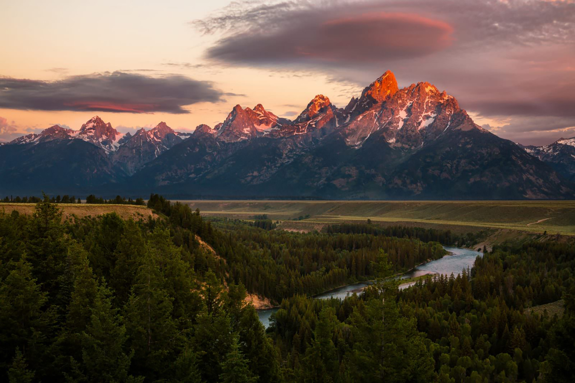Snake River Overlook - Jackson Hole, WY