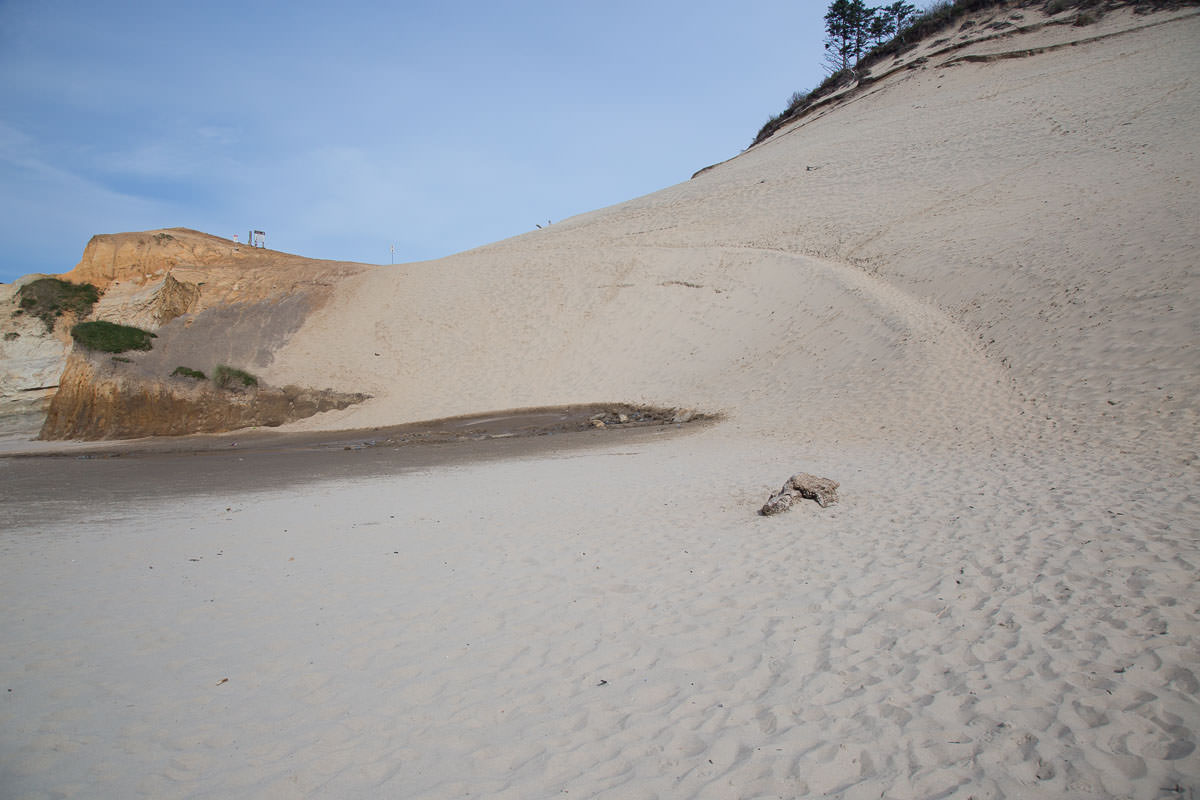 Hike up the sand hill
