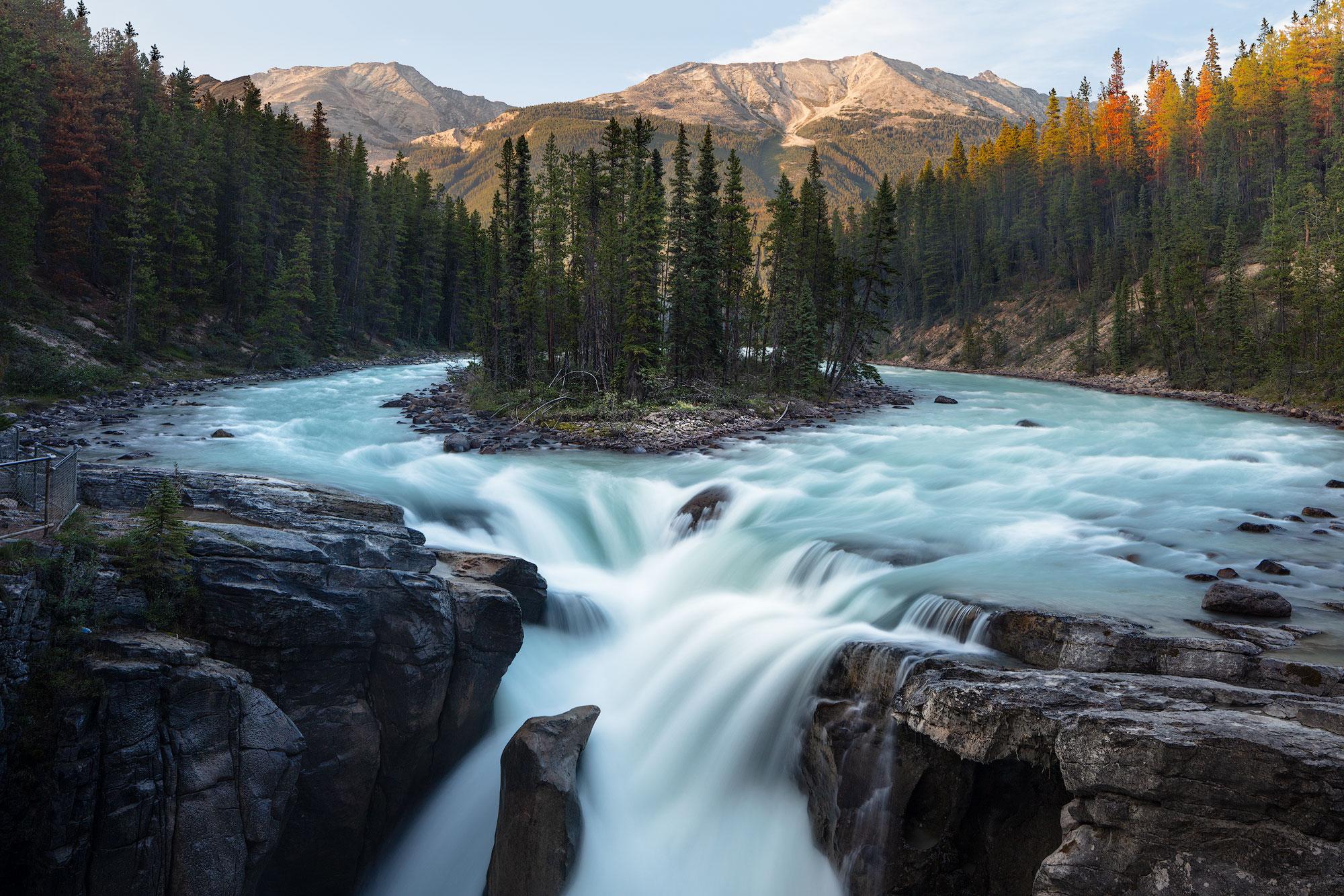 Sunwapta Falls - Jasper National Park, Alberta, Canada