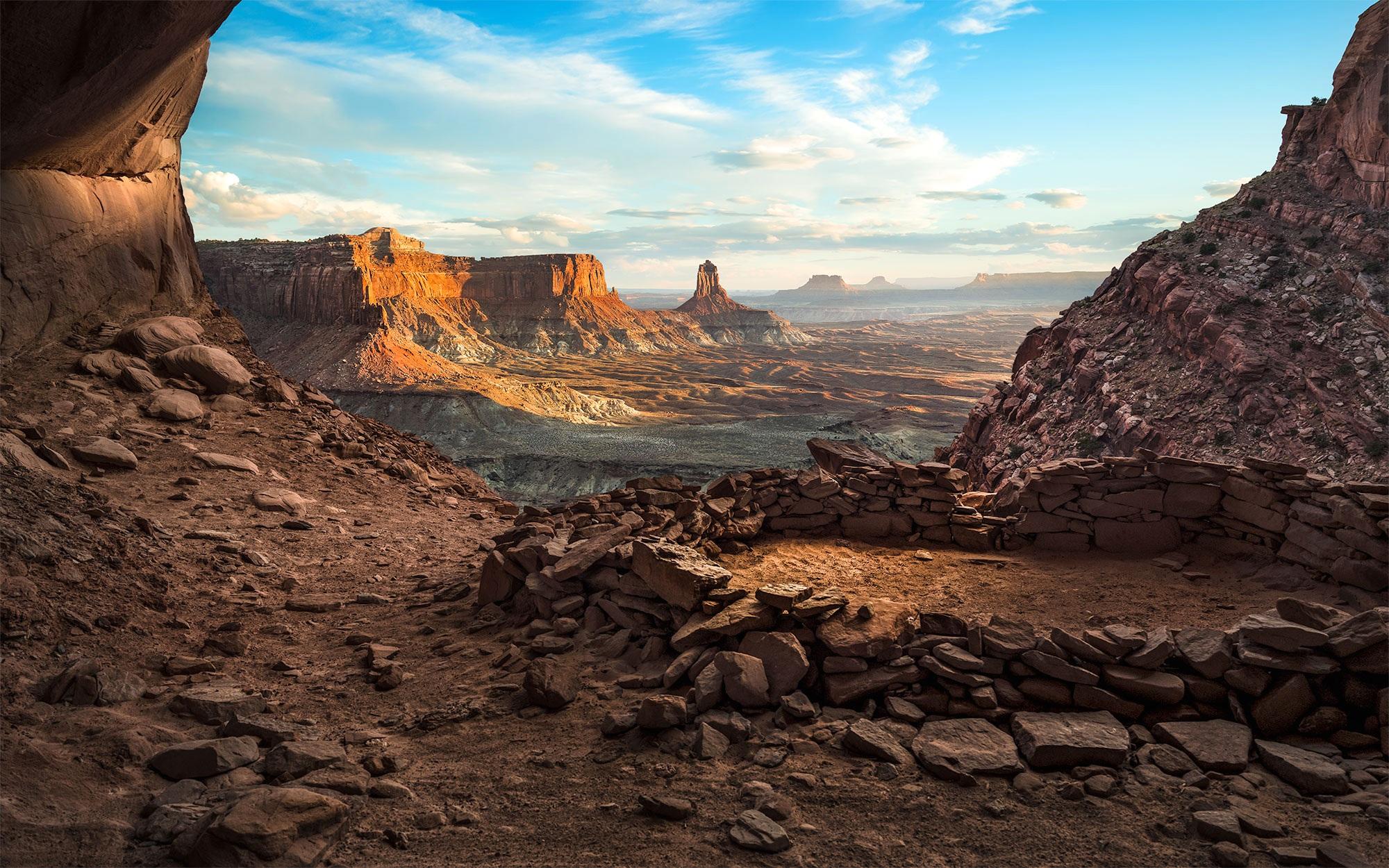 The False Kiva - Canyonlands National Park, UT