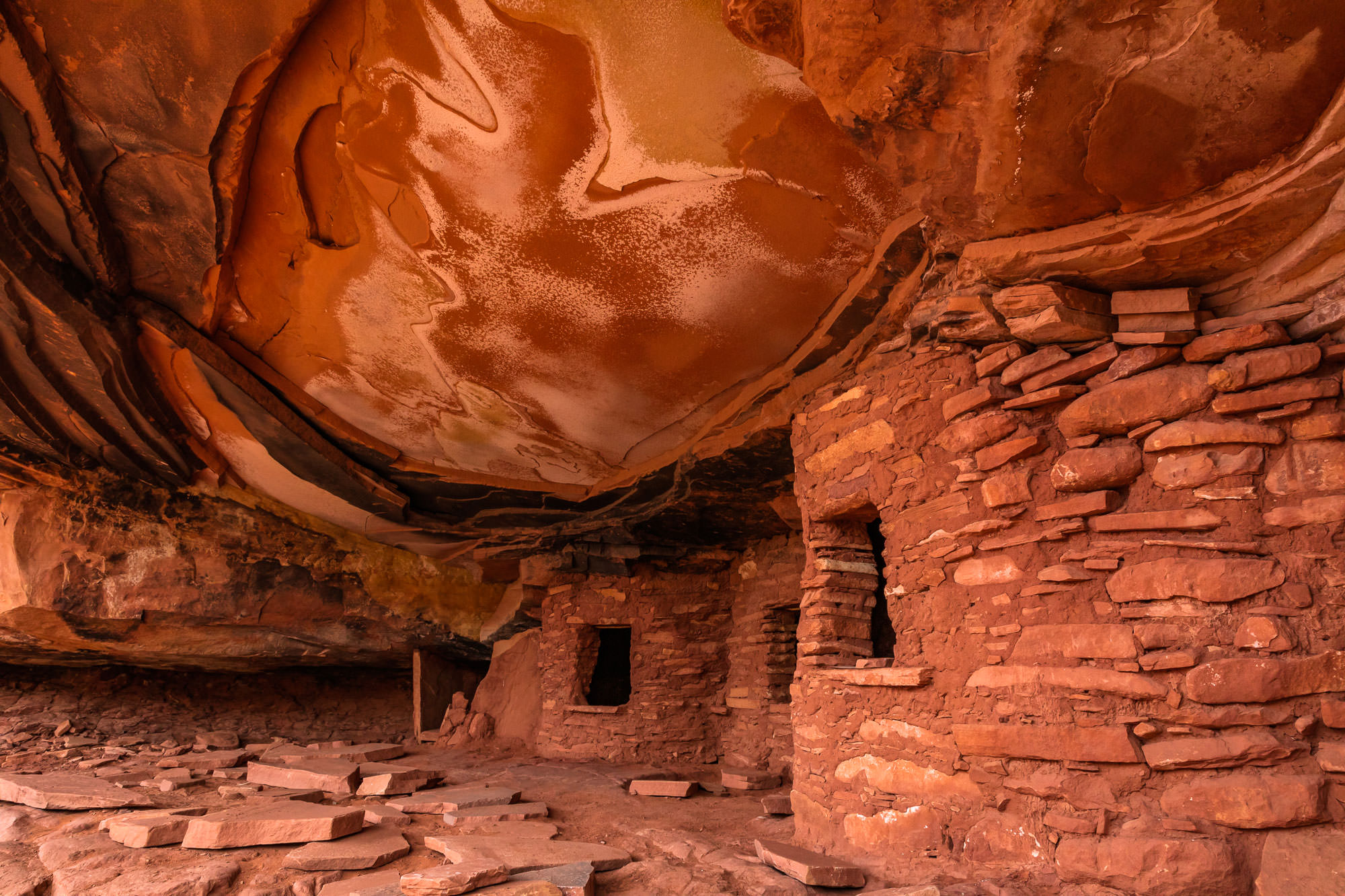 Fallen Roof Ruin - Bears Ears National Monument, UTImage by Don Metz @ www.donmetzphotography.com