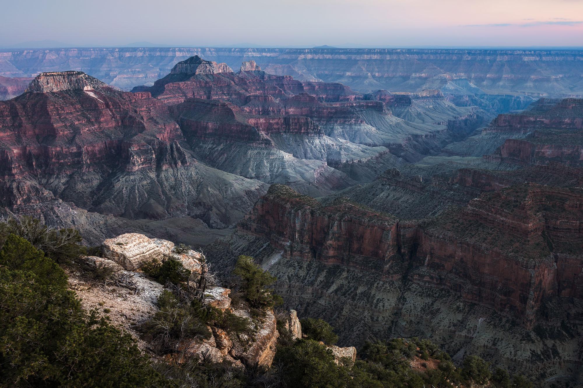bright angel Point - North RIm - Grand Canyon, AZ